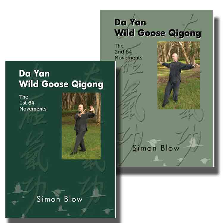 Book/DVDs - Da Yan Wild Goose Qigong 1st 64 and 2nd 64 - Simon Blow ...
