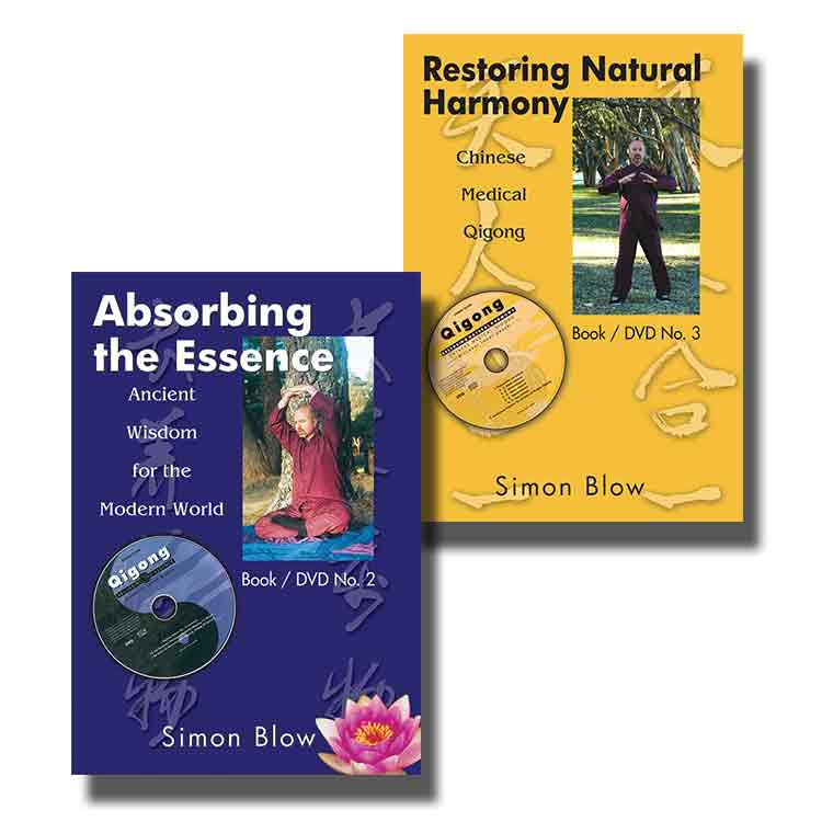 Book/DVDs - Absorbing the Essence - Restoring Natural Harmony ...