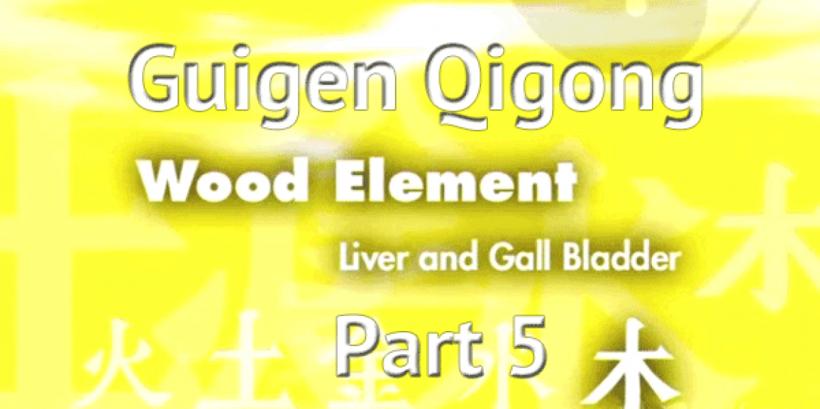 Guigen Chinese Medical Qigong – Wood Element Part 5