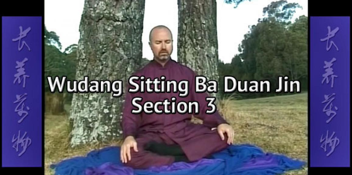Wudang Sitting Ba Duan Jin Section 3