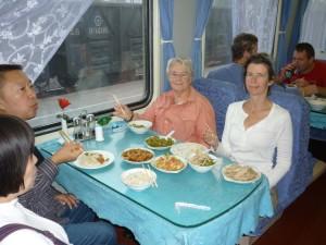 Dinning-car-2010-Qigong-study-tour-simonblowqigong.com