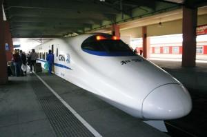 Fast-train-2009-Qigong-study-tour-simonblowqigong.com