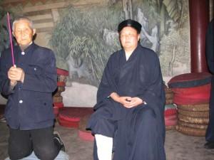 Master-Chengzhen-initiation-ceremony-2007-Qigong-study-tour-simonblowqigong.com
